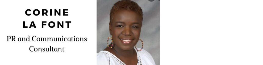 Corine La Font from Trinidad to Jamaica